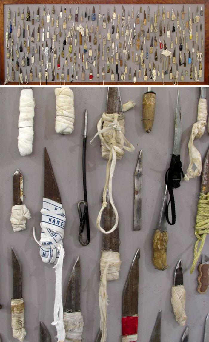 Huge Prison Shank Collection
