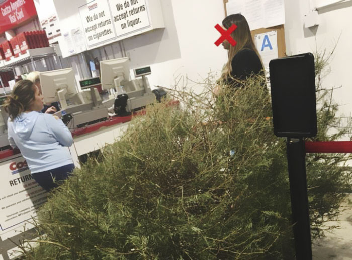 "Woman Returns A Christmas Tree On January 4th Because ""It's Dead,"" And The Shop's Response Will Infuriate You"