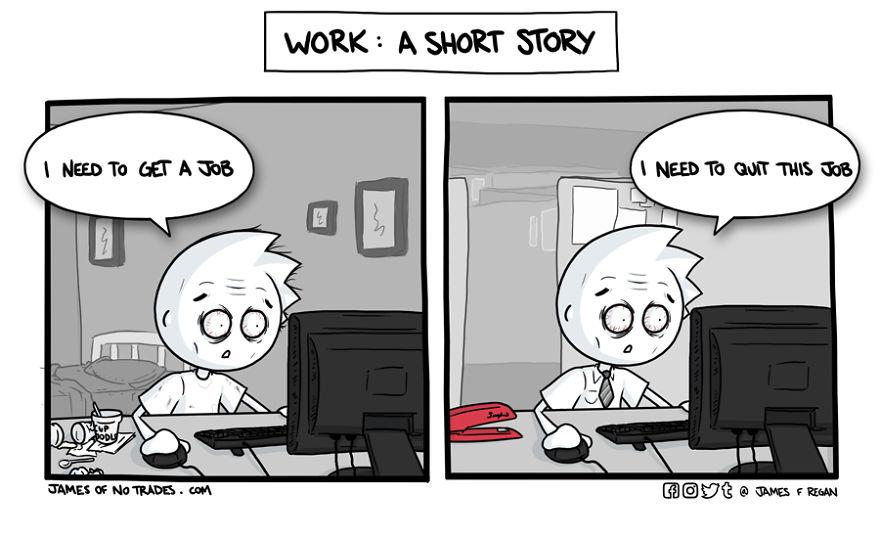 Comics About Making It Through Life | Bored Panda