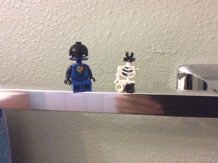 I Found Two Strange Lego Guys And Decided To Show There Adventures In A Series Of Photos