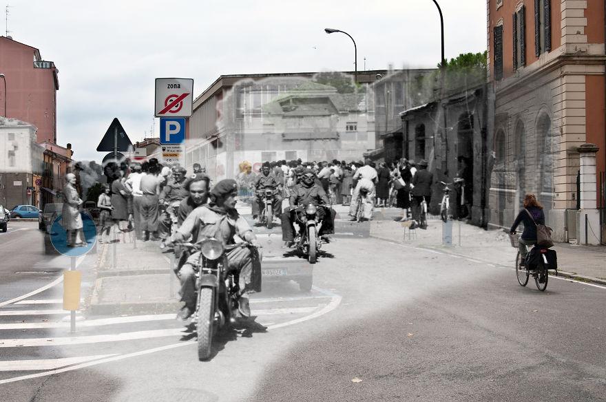 The Partisans Enter The City