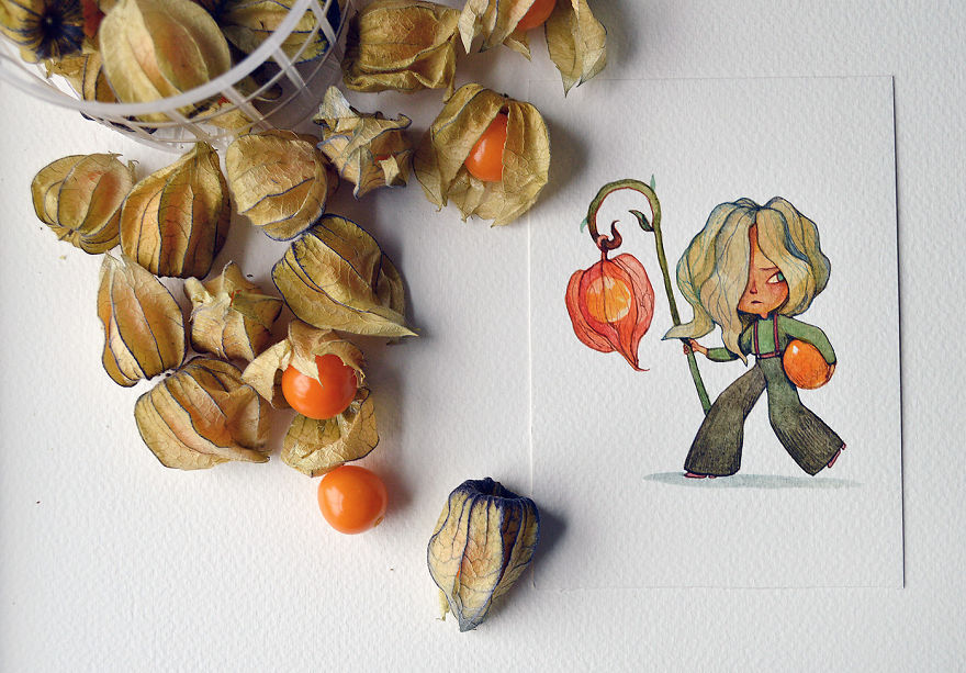 A Sneaky Physalis