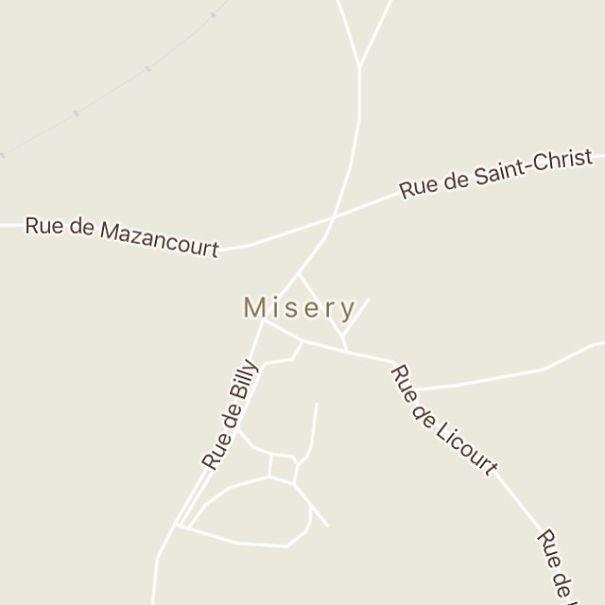 Misery, France