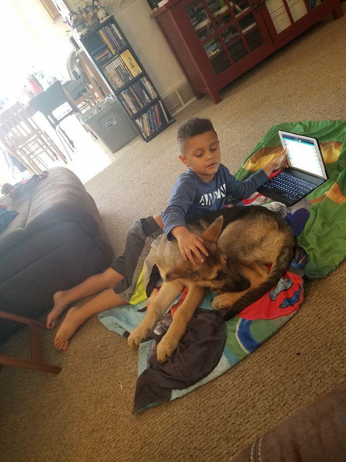 Rello & Legend Puppy Love!
