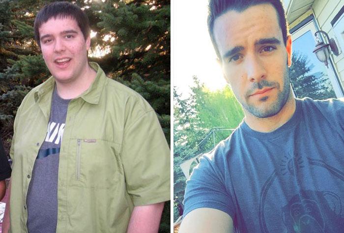 Hoy a los 25 años, he perdido 54 kilos y he ganado algo de músculo