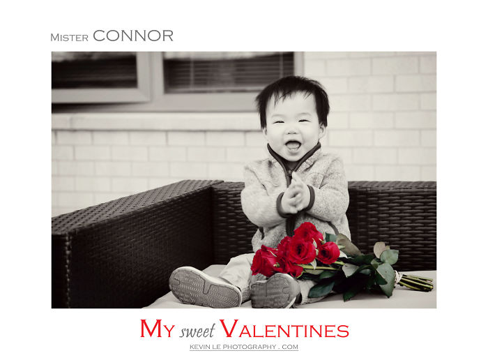I Photographed 50 Adorable Children To Celebrate Valentine's Day!