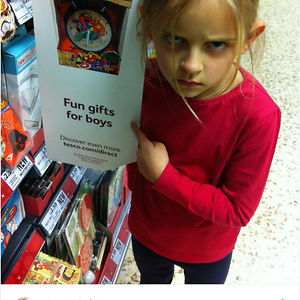 My Superhero Loving 7-Year-Old Daughter Not Impressed When She Spotted This Sign In Tesco Today