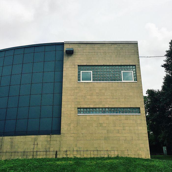 Este edificio se parece a Calculón de Futurama