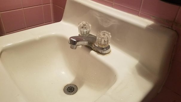 This Sink Faucet Looks Like The Squirrel From Ice Age