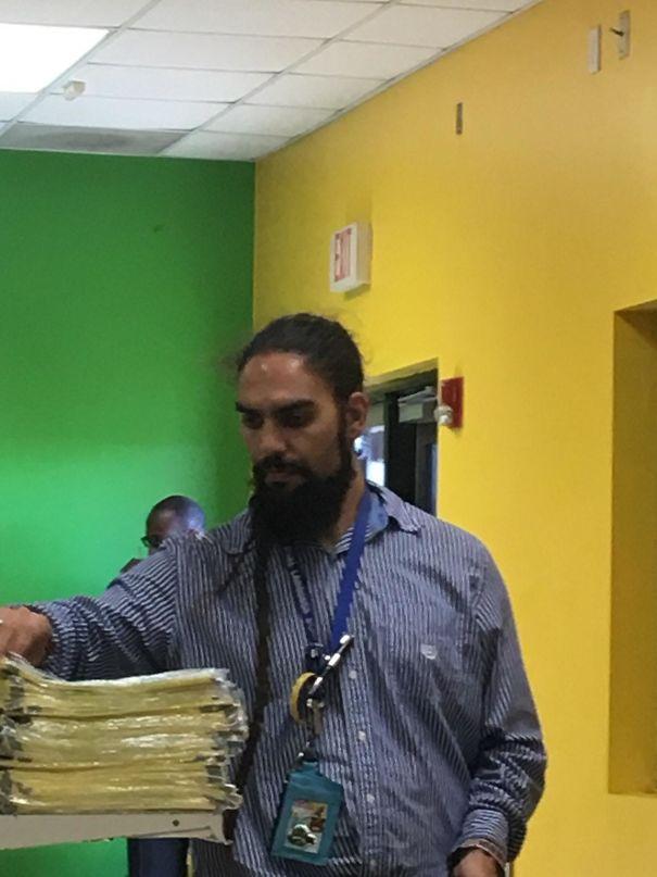 This Teacher That Looks Like Khal Drogo