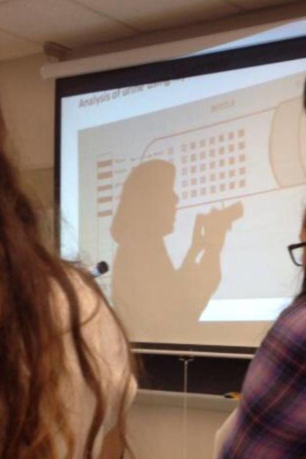 My Professors Shadow Looks Like Lord Farquaad