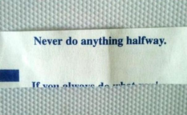 My Ironic Fortune Cookie