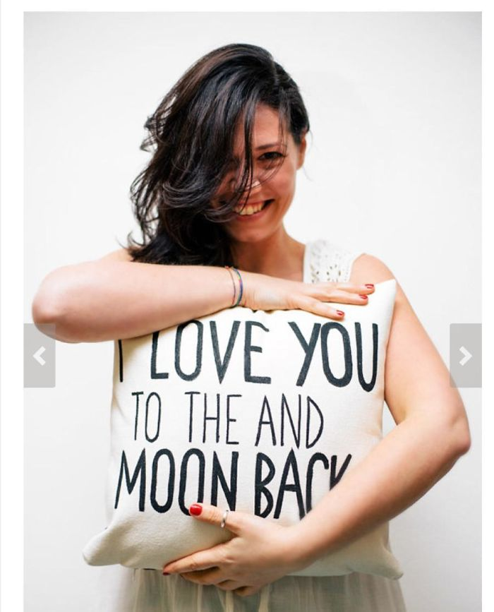I Love You To The And Moon Back!