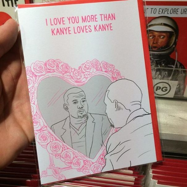 My Valentine's Card Search For This Year Is Over
