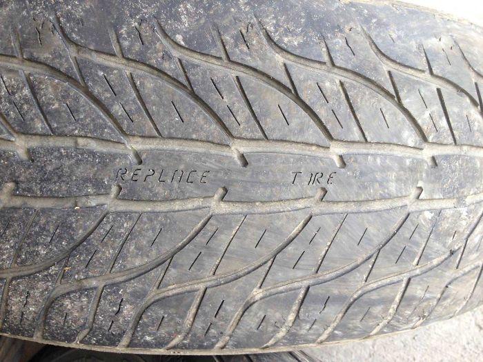 Neumáticos que al desgastarse te avisan de que debes cambiarlos
