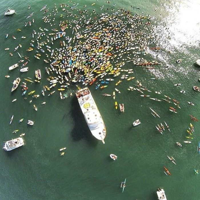 Paddleout For My Grandpa's Funeral