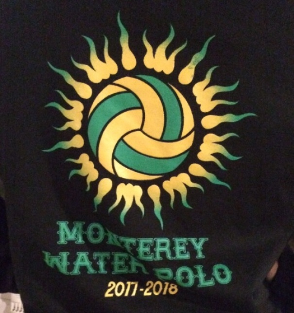 Girls Water Polo Team Logo