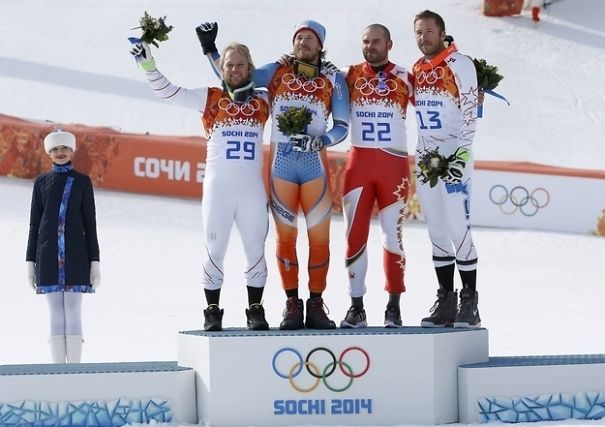 Winter Olympic Suit Looks Like Short-Shorts