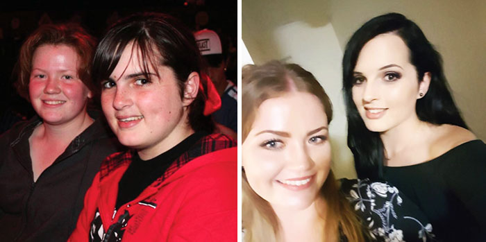 14-24 My Best Friend (Left) And I (Right). Thanks Puberty