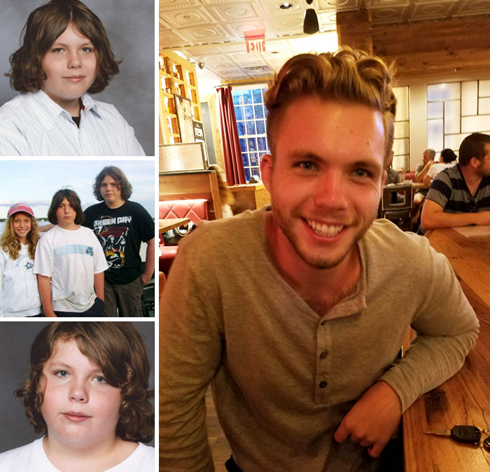My Friends Transition From 12 Pudge To 22 Year Old Stud (8th Grade - Postcollege)