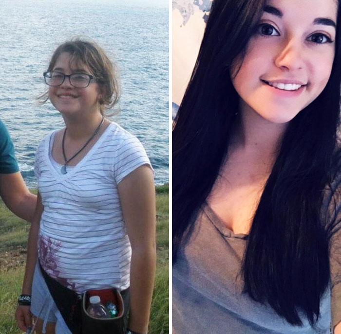 12 Vs 19. Never Got Taller, But I Got Contacts And Lost A Bunch Of Weight