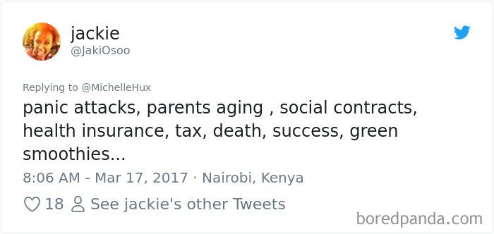 Adult Problem Tweet