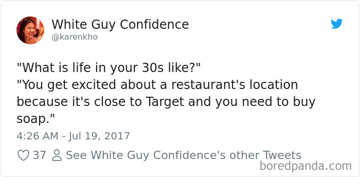 Being In Your 30s
