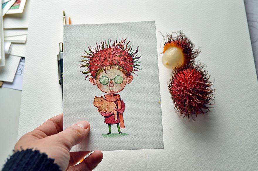 A Loony Rambutan