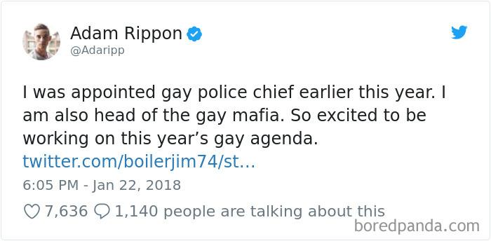 Adam Rippon Tweet