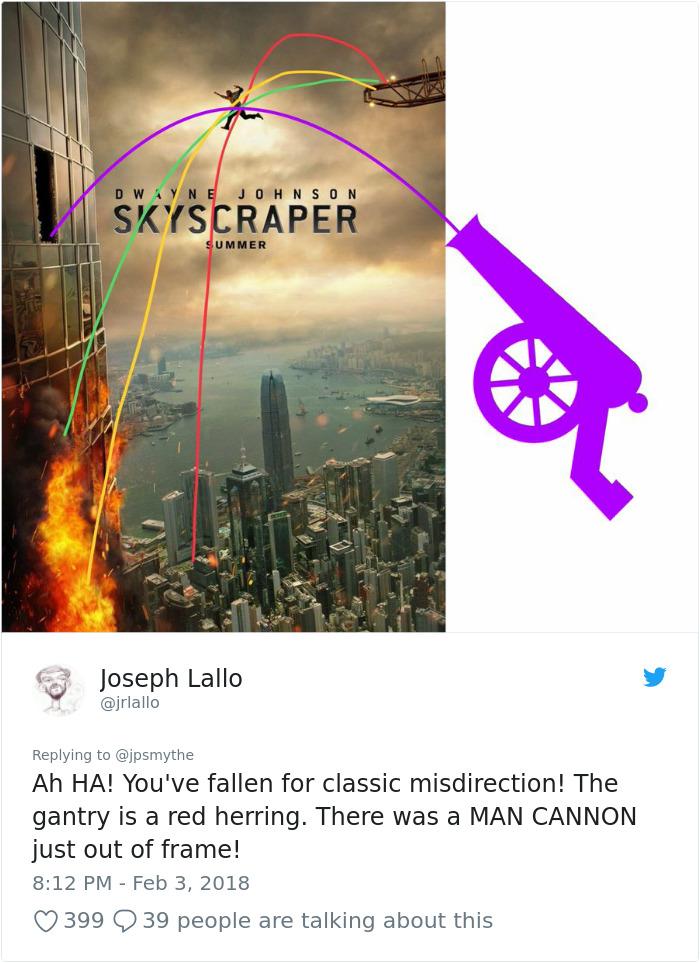 959882191852441601 png  700 - Lagi Rame, Nih! Ngerasa Nggak Kalau Ada yang Aneh Dengan Poster Film Skyscraper ini?