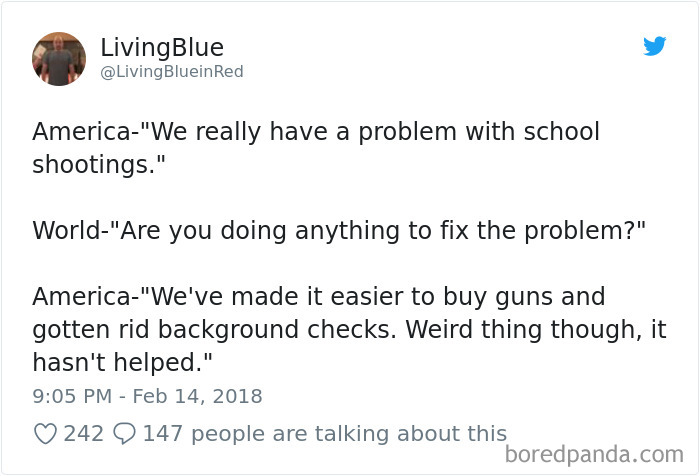 20+ Brutally Honest Reactions To The Gun Situation In America That Will Make You Think