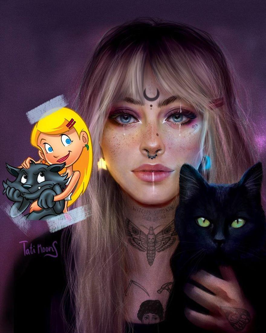 Sabrina From Sabrina The Animated Series