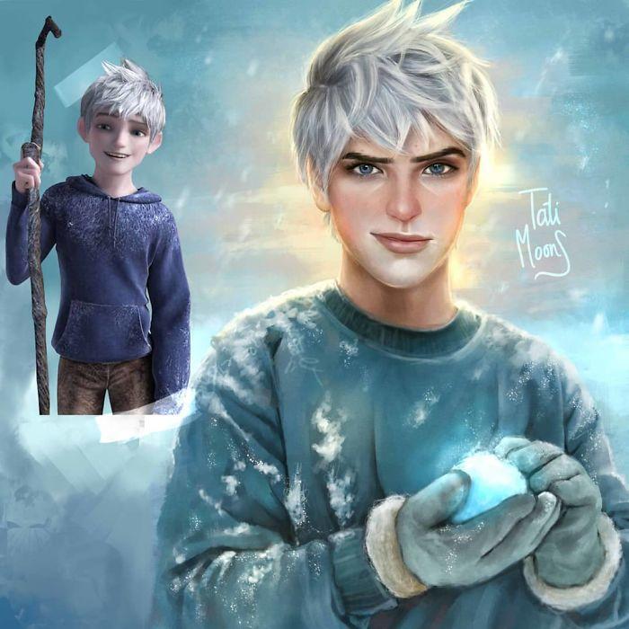 Jack Frost de El origen de los guardianes