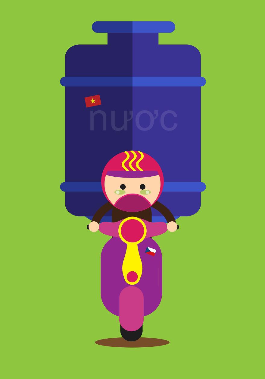 Water Tank Man