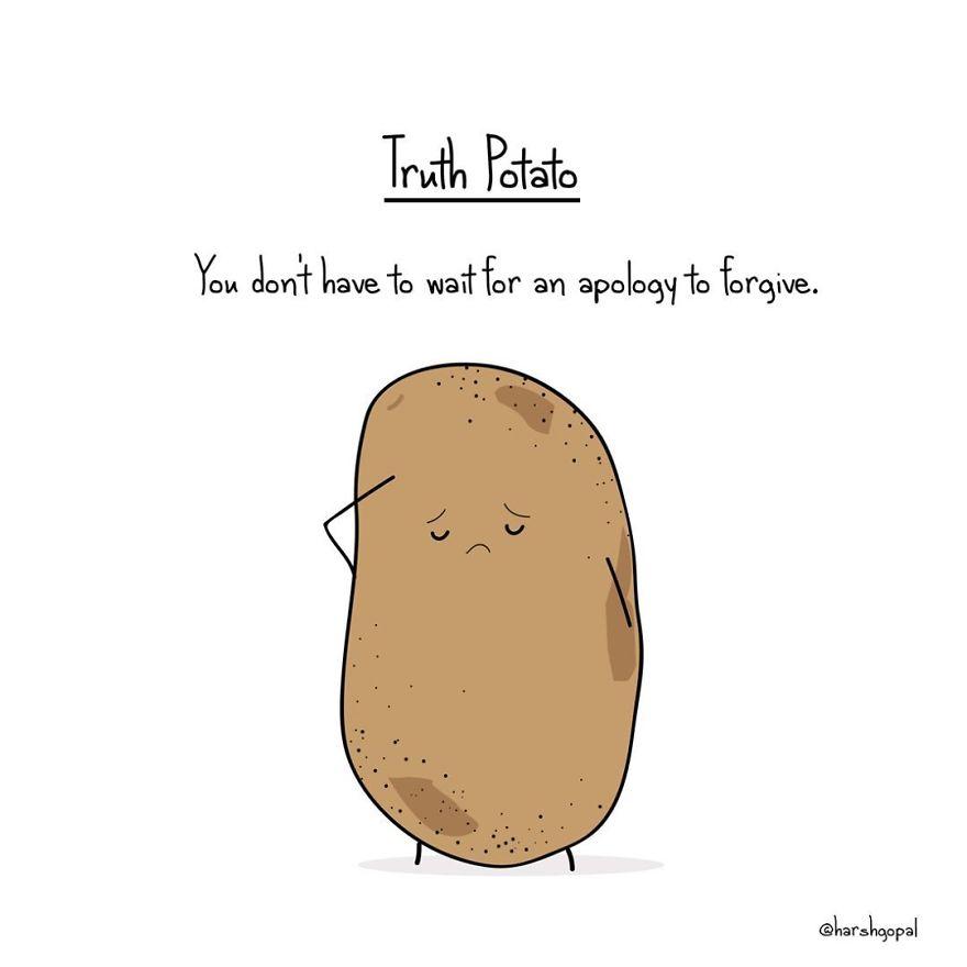 15 Bitters Truths That Tells Us The Truth Potato Strikes Again