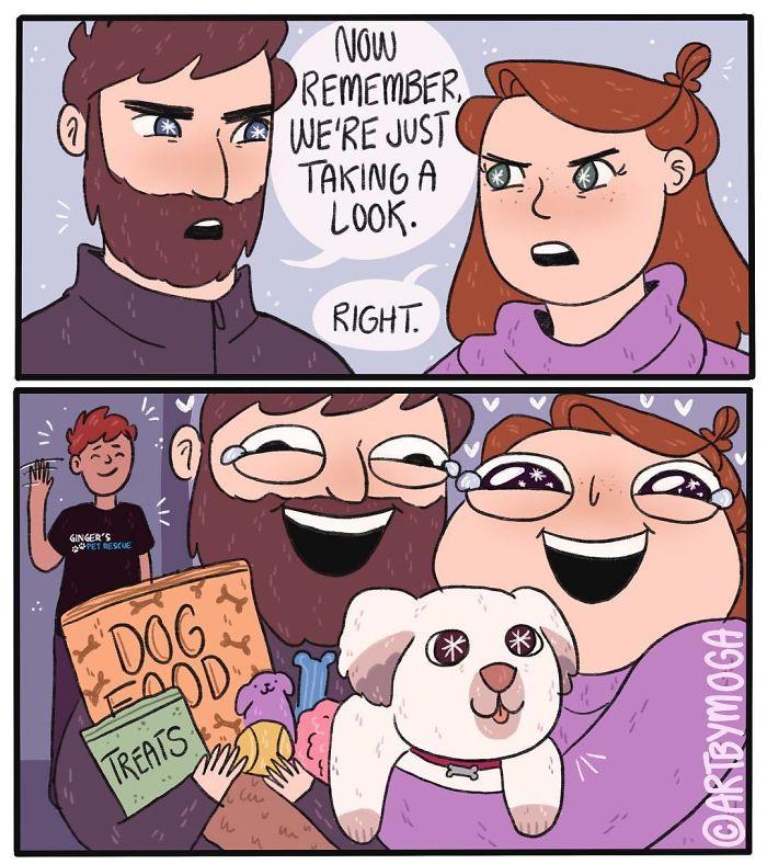 Funny-Girl-Comics-Art-By-Moga