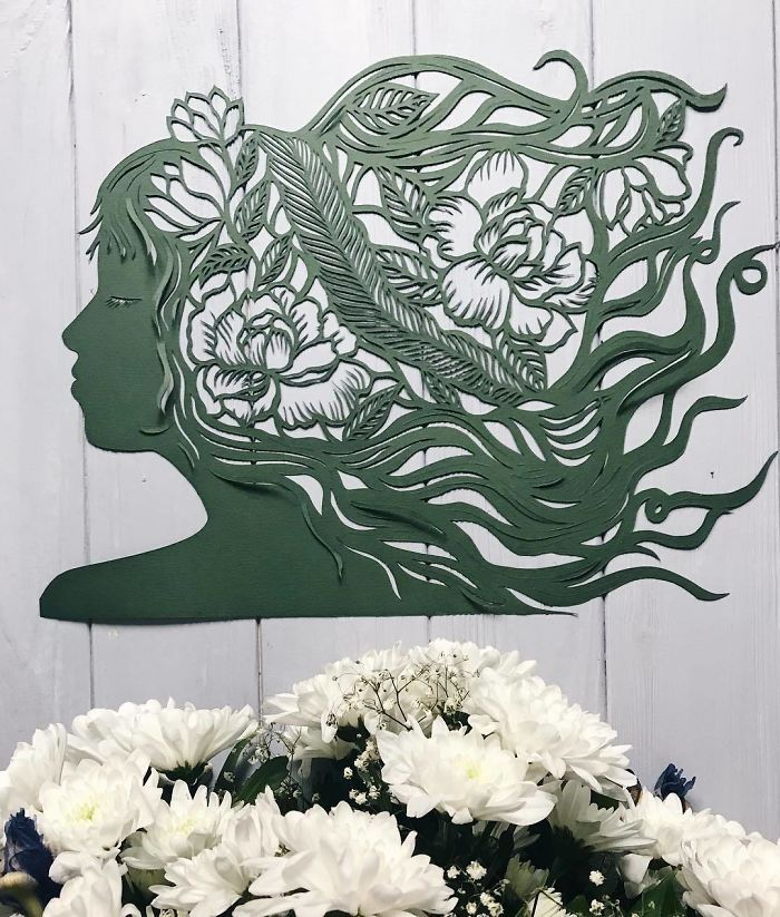 Laced Paper Cuts By Ukrainian Artist Eugenia Zoloto
