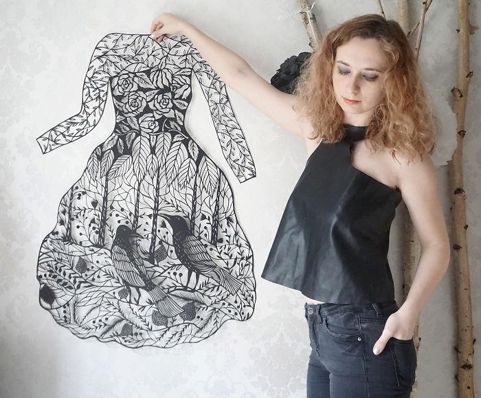 Laced Paper Cuts By Ukrainian Artist Eugenia Zoloto