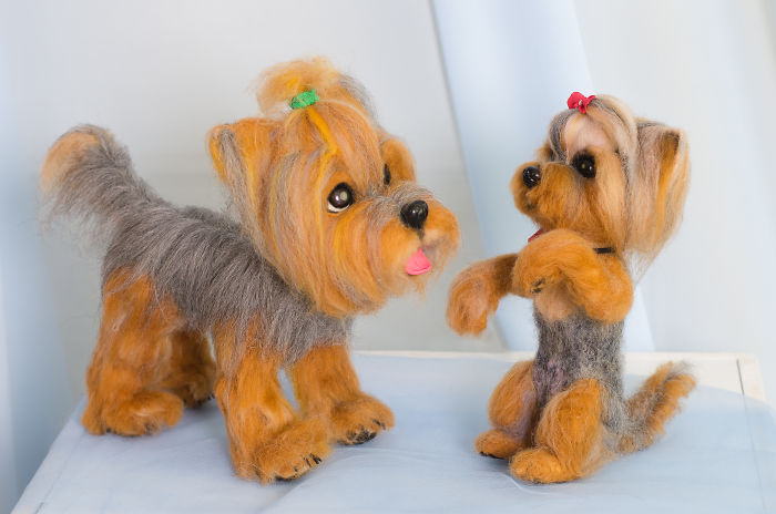 What Are These Cute Little Yorkies Made Of? What Do You Think?