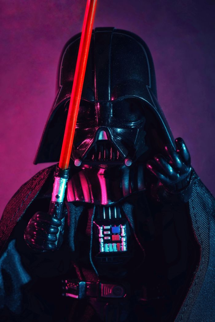 My Toys Joined The Dark Side…