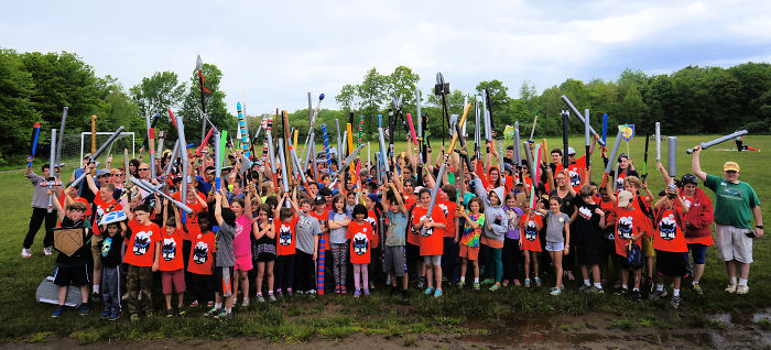 Every Year, We Create Percy Jackson's Camp Half-Blood Event For Kids And Teens To Live A Real Adventure