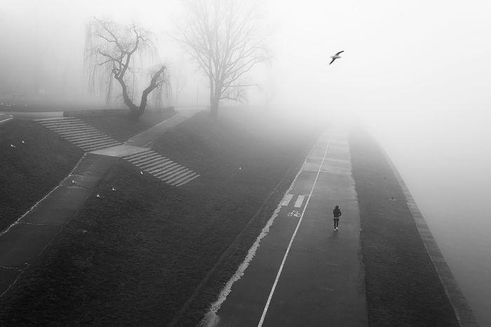 I Capture Krakow In The Morning Fog