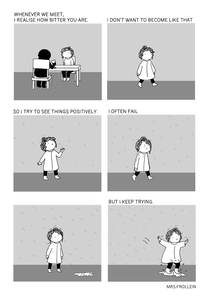 Little Wholesome Comics About Everyday Life