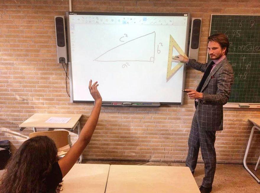 I Heard You Guys Like Hot Teachers, So I Present To You My Math Teacher