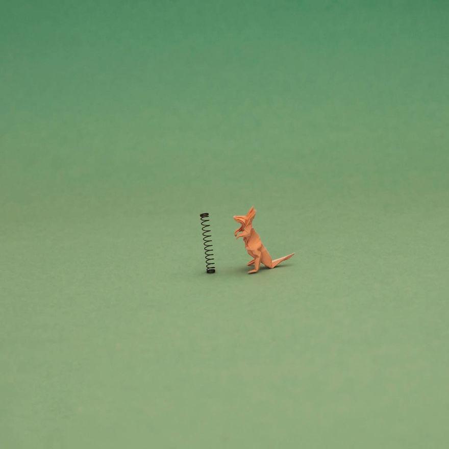 Miniature -Origami-Figures-Ross-Symons