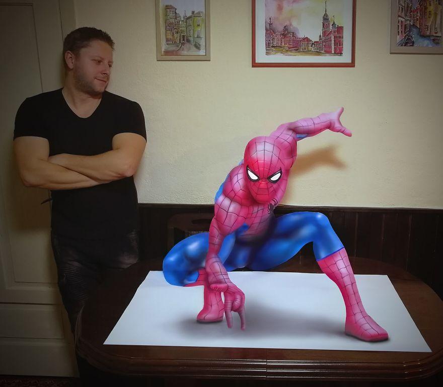 3D Spider-Man