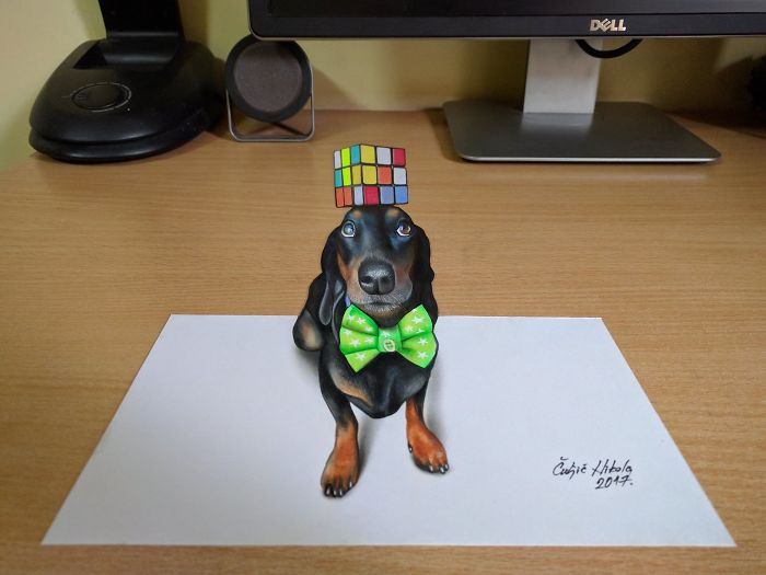 My New 3D Model, Harlso The Balancing Hound