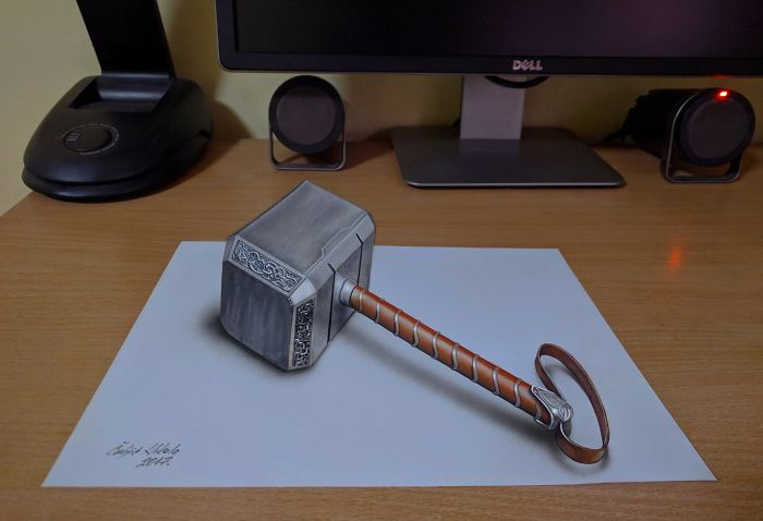 3d Thor's Hammer