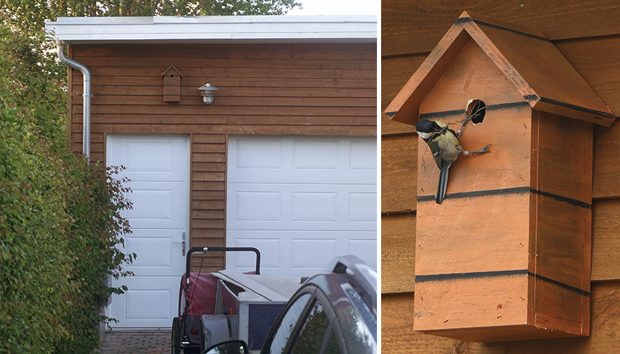 I Make Camouflage Birdhouses To Keep The City Birds Out Of Sight