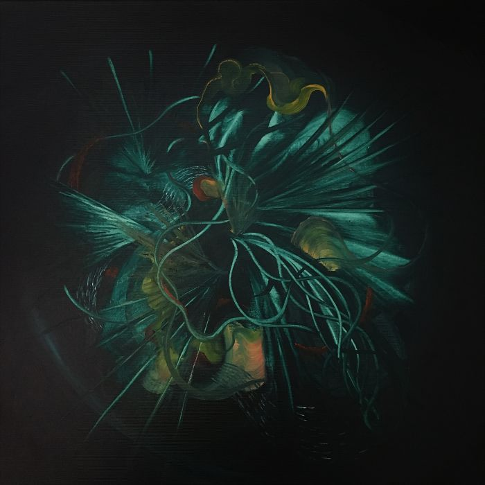 Uk Artist Genevieve Leavold Creates Dark Worlds Of Abstracted Natural Forms